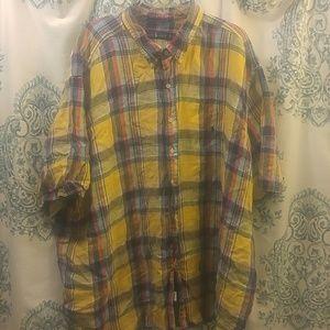 Ralph Lauren 5xb plaid shirt